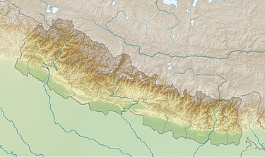 375px Nepal relief location map
