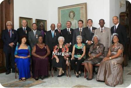 Marguin_Curacao_honoured