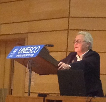 Martine Levy chairman ONG UNESCO